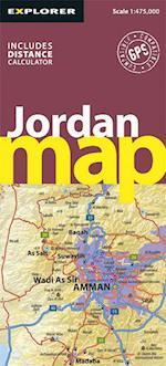 Jordan Road Map (Road Maps)