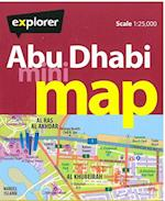 Abu Dhabi Mini Map (Mini Maps)