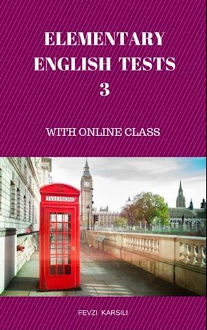 ELEMENTARY ENGLISH TESTS 3 af Fevzi Karsili