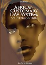 African Customary Law: An Introduction af Peter Onyango