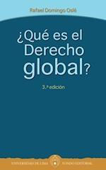 ¿Qué es el Derecho global?- Tercera edición