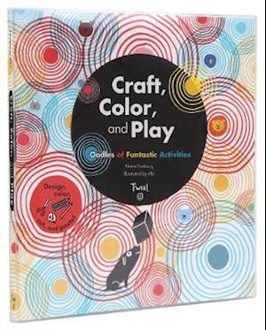 Bog, paperback Craft, Color, and Play af Marie Fordacq