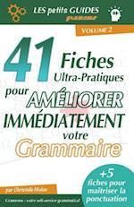Gramemo - 41 Fiches Ultra-Pratiques Pour Ameliorer Immediatement Votre Grammaire