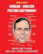 Fun & Easy! Korean-English Picture Dictionary