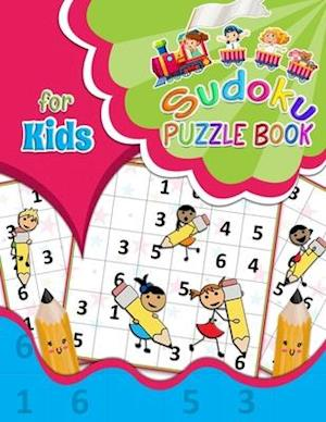 Sudoku Puzzle Book for Kids: Children's Activity Book | Brain Games for Clever Kids to Exercise Your Mind | with Solutions | Large Print | One Sudoku
