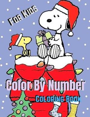 Color By Number Coloring Book For Kids: Color By Number Coloring Books For Kids Color By Number Book With Senior