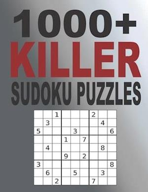 1000+ Killer Sudoku Puzzles: Sudoku puzzle book for adults, Sudoku Puzzles with Solutions, Tons of Challenge for your Brain