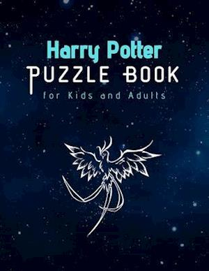 Harry Potter Puzzle Book for Kids and Adults