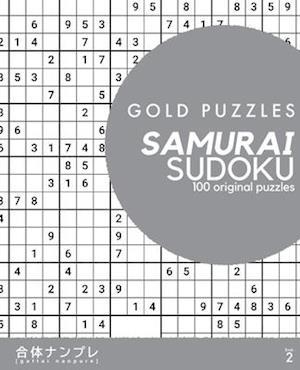 Gold Puzzles Samurai Sudoku Book 2