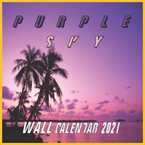Purple Sky Wall Calendar 2021