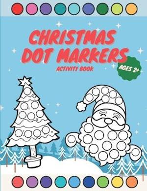 Dot Markers Activity Book Christmas