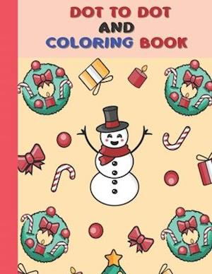 Dot To Dot And Coloring Book
