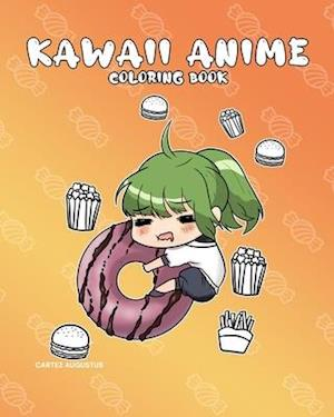 Kawaii Anime Coloring Book