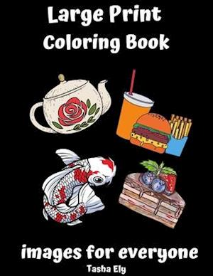 Large Print Coloring Book