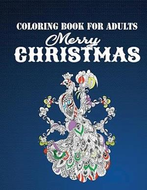 Coloring Book for Adults Merry Christmas