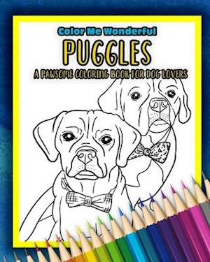 Få Puggles A Pawsome Coloring Book For Dog Lovers af Color ...