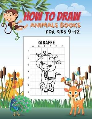How to draw books for kids 9-12 animals