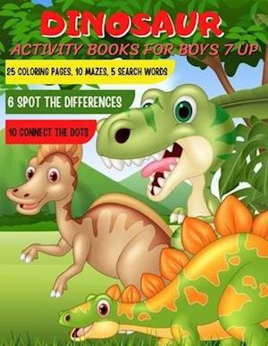Dinosaur activity books for boys 7 up