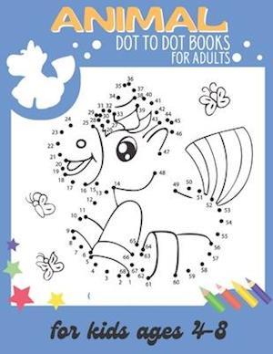 Animal dot to dot books for adults