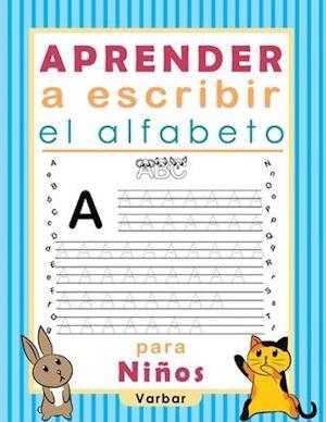 Aprender a escribir el alfabeto para Niños