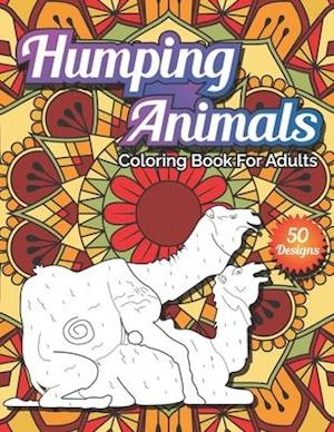 Humping Animals coloring book