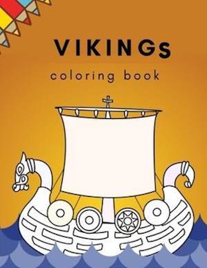 Vikings Coloring Book