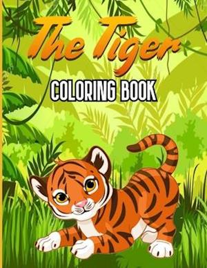 The Tiger Coloring Book