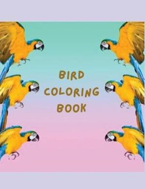 Bird Coloring Book : More than 45 Unique and Fun Images of Birds