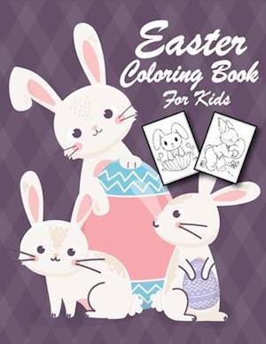 Easter Coloring Book for Kids: Easter Basket Filler, Suitable for Preschoolers and Kids Aged 1-4   Best Coloring Book for Kids