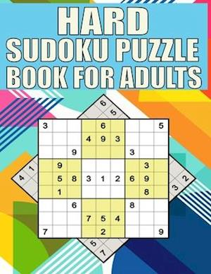 Hard Sudoku puzzle book For Adults: Extremes Hard Sudoku Book With Solutions and One Puzzle Per Page,The Perfect Gift for all Sudoku Puzzle Book Lover