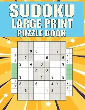 Sudoku Large Print puzzle Book : Extremes Hard Sudoku Book With Solutions and One Puzzle Per Page,The Perfect Gift for all Sudoku Puzzle Book Lovers