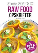 Sunde rawfood opskrifter