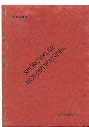 Sporcykler et katalog fra Golbækdal, Brande
