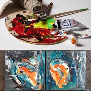 Skab dine egne malerier.