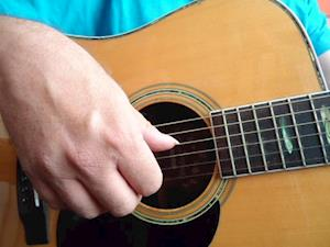 Start på fingerpicking guitar