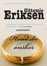 Hvad Du Ønsker læseprøve af Gittemie Eriksen