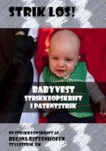 Strik løs! Babyvest strikkeopskrift i patentstrik af Regina Ritzenhofen