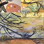 Abstrakt Natur - med akryl & kul.