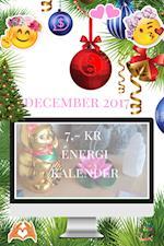 DIN ESSENS tilbyder; 7,- kr Energi Kalenderen for DECEMBER 2017 af Natascha Alberthe Miela Larsen, stifteren af DIN ESSENS