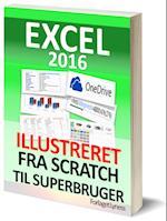 Excel 2016 Illustreret Grundbog. Download eksempler i denne danske bog. Erfaren underviser lærer dig tips og tricks om Excel. Lær om funktioner, formler, diagrammer, pivottabeller og meget mere